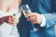 couple toasting