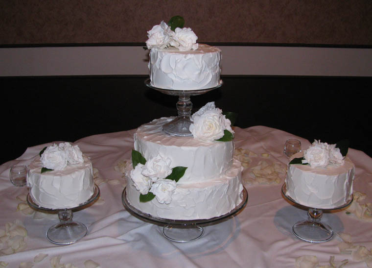 wedding cake fairfield wedding cakes receptions inc 22581