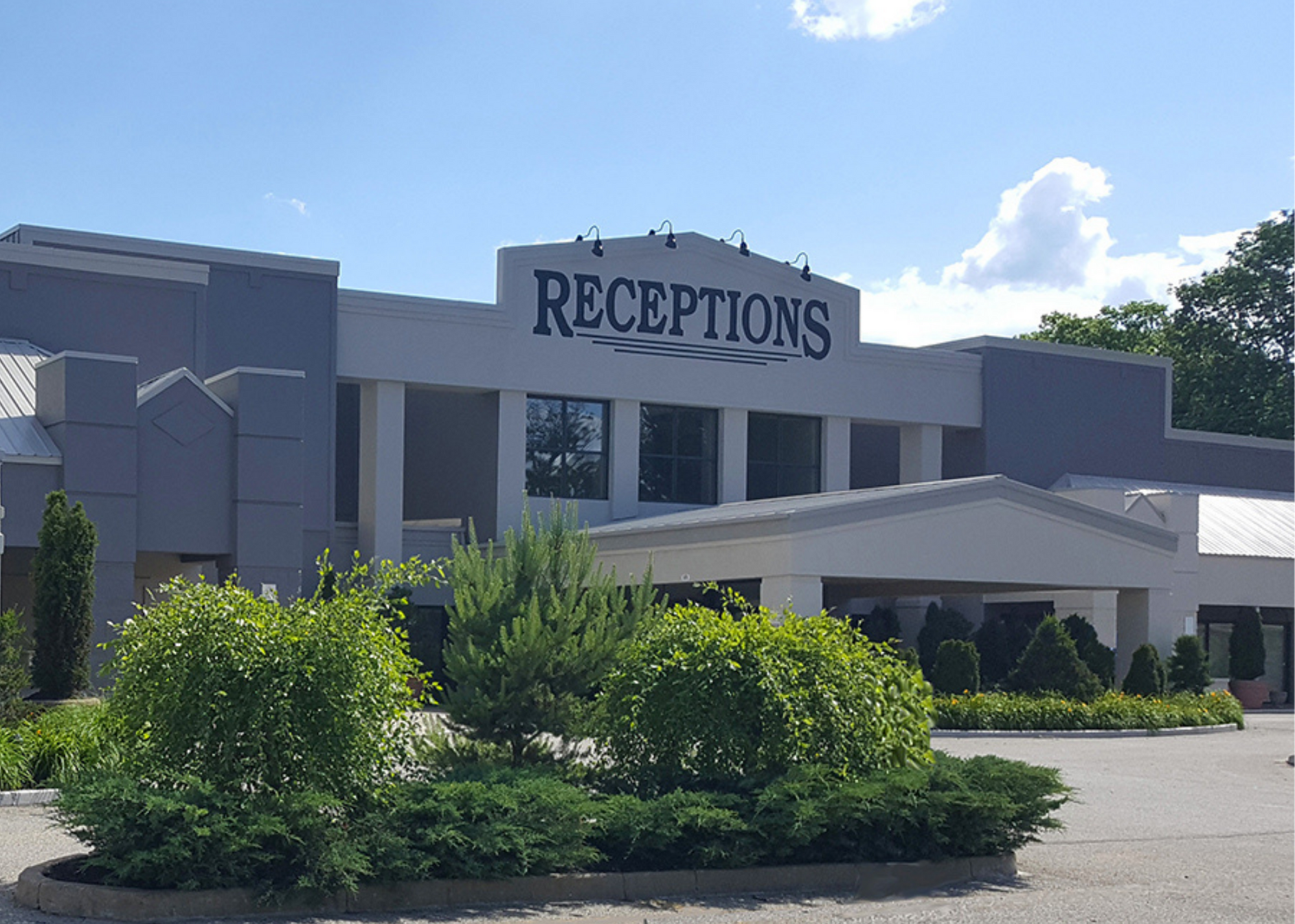 receptions event centers fairfield ohio