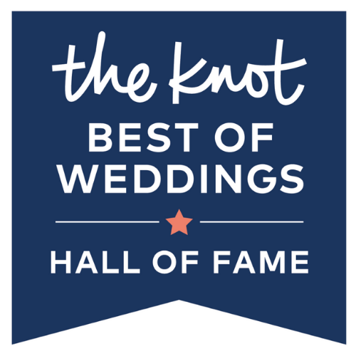 the knot best of weddings hall of fame logo